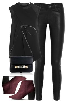 """Untitled #1492"" by londoniscallingme ❤ liked on Polyvore featuring J Brand, H&M, Alexander Wang and Proenza Schouler"
