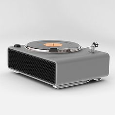 Turntable concept designed by Ahmad Bittar for Porsche
