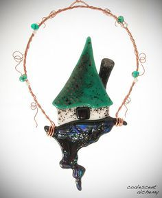 Image result for fused, glass fairy