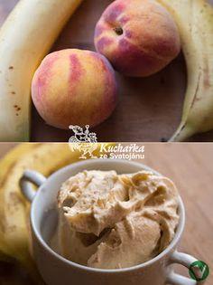 Kuchařka ze Svatojánu: VÝBORNÁ BROSKVOVÁ ZMRZLINA Food Inspiration, Food To Make, Peach, Ice Cream, Homemade, Fruit, Recipes, No Churn Ice Cream, Home Made