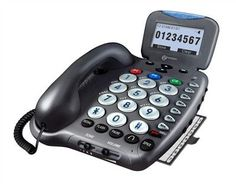 Amplified Phone with Talking Caller ID & Talking Keys