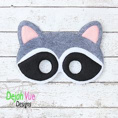 Michaels Arts And Crafts Coupon Refferal: 6634467870 Crafts For Boys, Toddler Crafts, Preschool Crafts, Raccoon Mask, Racoon, Animal Masks For Kids, Mask For Kids, Embroidery Applique, Machine Embroidery