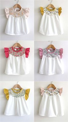 Marya at Swallow's Return designs and makes the sweetest cotton dresses, blouses and bloomers for babies and girls aged 0 to 5 years. I love the simp