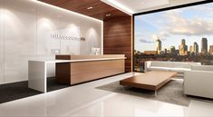 Reception Fitouts Melbourne, Australia - Zircon Interiors