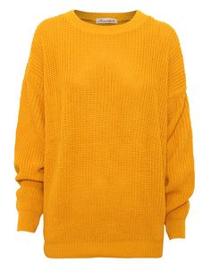 Oversized Fisherman Jumper in Mustard £ 12.95 http://www.chiarafashion.co.uk/oversized-fisherman-jumper-in-mustard.html #fisherman #jumper #winterwear #knitwear #trend #fashion #mustard #yellow