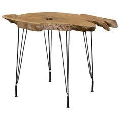 Driftwood Teak Side Table