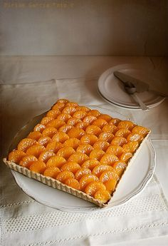 Tarta de naranja / orange tart   El invitado de invierno