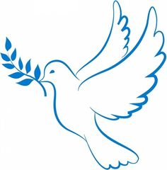 Dove of Peace - - Dove of Peace Activities Friedenstaube Dove Drawing, Dove Pictures, Pictures Of Doves, Peace Dove, Church Banners, Painted Rocks, Line Art, Embroidery Patterns, Coloring Pages