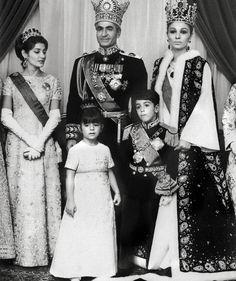 Iranian Imperial Family 1967