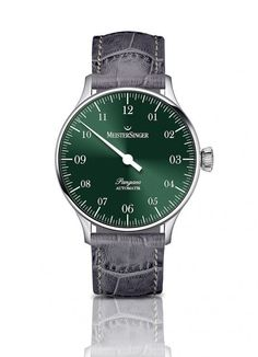 Going Green: MeisterSinger's New Green Dials Best Affordable Watches, Watch Model, New Green, Omega Watch, Passion, Accessories, Clock Art, Watches, Green