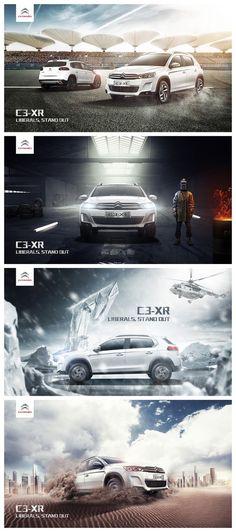 Advert Design, Ad Design, Leaflet Layout, Creative Hub, Car Posters, Cinema 4d, Graphic Design Inspiration, Advertising, Banner