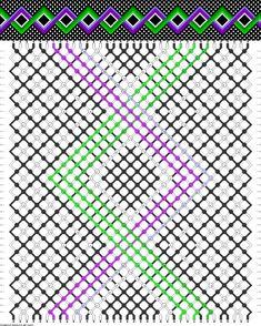 36 strings, 40 rows, 8 colors