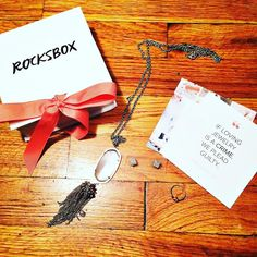 My next @rocksbox came in with three absolutely stunning items!! I am dying over the @kendrascott necklace! For more information - check out my periscope from last night! For a free month use the code planwithlakenxoxo  #rocksbox #jewelry #subscriptionbox #plannergirl #plannercommunity by planwithlaken