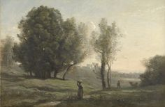 Landscape | Camille Corot | 1872 | Rijksmuseum | Public Domain Marked