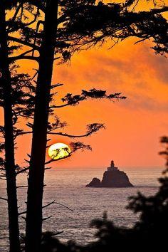 ~~Ecola sunrise ~ Ecola State Park, Cannon Beach, Oregon by Gleb Tarro~~ Story Idea Beautiful World, Beautiful Places, Canon Beach, Foto Picture, Ecola State Park, Skier, Oregon Travel, Oregon Coast, Oregon Usa