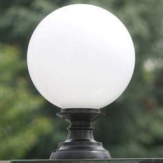 137 best favorite outdoor lighting images on pinterest outdoor pedestal globe light elba 02 by schlesische laternen aloadofball Gallery