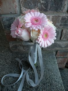 Mini Gerbera Daisy & Rose Bouquet