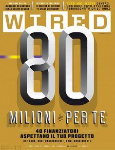 Wired (Italy) Newest ItalianWiredcover.Design Director David Moretti