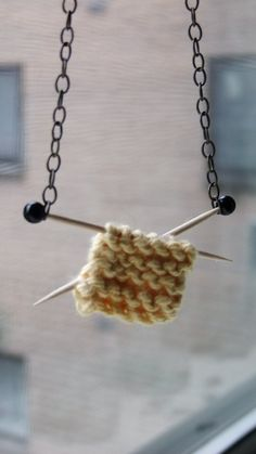 Knit Necklace