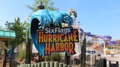 What to Expect at Six Flags Over Georgia's New Hurricane Harbor via @Sue Rodman @Field Trips with Sue