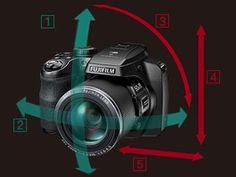 Fujifilm FinePix S9800  - stabilizzatore a 5 assi