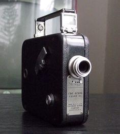 Vintage Kodak Cine Eight-25 Camera | Scoutmob
