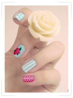 """""""All over"""" nails"""