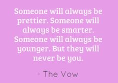 The Vow! Love this line.