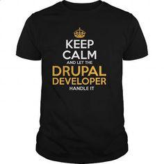 Awesome Tee For Drupal Developer - #white shirt #shirt designer. PURCHASE NOW => https://www.sunfrog.com/LifeStyle/Awesome-Tee-For-Drupal-Developer-131069643-Black-Guys.html?60505
