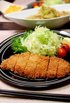 Tonkatsu, Japanese Pork Cutlet とんかつ