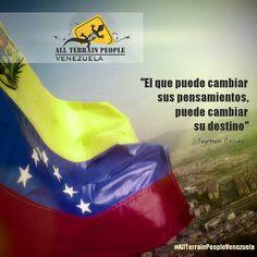 """""""El que puede cambiar sus pensamientos, puede cambiar su destino"""" #StephenCrane #AllTerrainPeopleVenezuela ❤ #venezuelatequiero #life #love #kayak #skate #rutas #extremo #parapente #quehaceshoyporvenezuela #allterrainpeople #wandere #gopro #extremo #naturaleza #paisajes #trekking #fundadores #venezuela #justicia #canaima #paraísoterrenal #igersvenezuela #lucha #noalmaltratoanimal #prayforvenezuela #adelantevenezuela #venezuelasomostodos"""