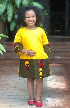 54 Edition of EsB TV - Shop From These New Aso ebi Lace style & African Print Trend Diyanu Baby African Clothes, African Dresses For Kids, Latest African Fashion Dresses, African Print Dresses, Dresses Kids Girl, African Wear, Kids Outfits, African Print Dress Designs, African Print Clothing