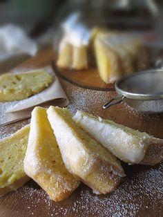Italian Lemon & Olive Oil Pound Cake with Limoncello Glaze - Click For Recipe