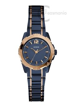 Spice up your Autumn look with our Guess 'Mini Intrepid' Ladies' two-tone dress sports watch, water resistant to Liu Jo, Just Cavalli, Ice Watch, Only Fashion, Watch Sale, Sport Watches, Plaque, Gold Watch, Rolex Watches