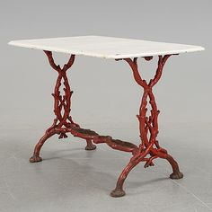 A cast iron garden table from the late - Bukowskis Cast Iron, It Cast, Garden Table, Finland, 19th Century, Dining Table, Dreams, Furniture, Home Decor