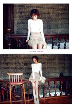 Lace Sleeve Blouse - I know you wanna kiss me. Thank you for visiting CHUU.