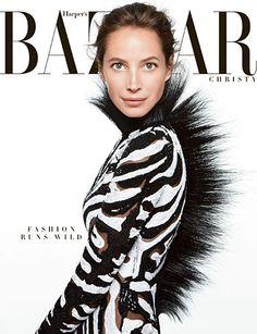 Cover Girl: Christy Turlington's Best Bazaar Covers