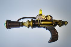 A steampunk ray gun I built a number of years ago.