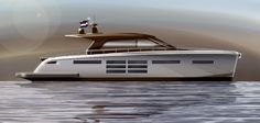 18m high speed motor yacht for shallow waters