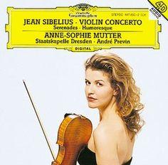 SIBELIUS Violinkonzert - Mutter / Previn - Deutsche Grammophon