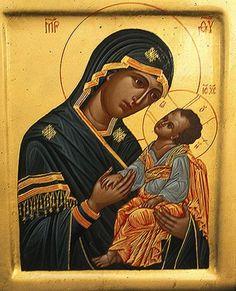 Our Lady of Perpetual Help Catholic Store, Catholic Gifts, Byzantine Icons, Byzantine Art, Religious Icons, Religious Art, Religious Paintings, Religion Catolica, Russian Icons