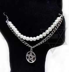 Witchy pearl nose chain sold by DEVILISH. Shop more products from DEVILISH on Storenvy, the home of independent small businesses all over the world.