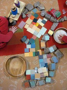 Add loose parts to block area | Loose Parts | Block Play