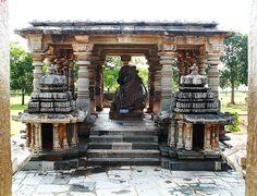 nandi or stone bull at a temple in halebidu karnataka Karnataka, Discovery, Gazebo, Destinations, Asia, Journey, Outdoor Structures, House Styles, Places