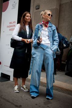 Milan Fashion Week street style | #MFW [Photo: Kuba Dabrowski]