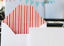 Double sided envelopes – DIY
