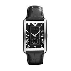 Emporio Armani AR1604 Gents Stainless Steel Watch with Black Leather Strap http://ift.tt/2kHapzc