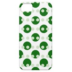 Green Polka Dots iPhone 5 Cover
