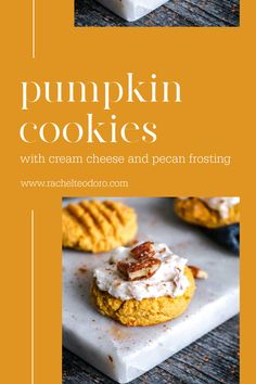 Pumpkin Recipes, Fall Recipes, Cookie Recipes, Dessert Recipes, Keto Recipes, Chocolate Chip Cookies, Apple Slab Pie, Trifle Pudding, Cream Cheese Cookies