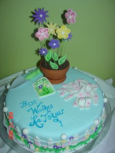 LaToya's rice krispy farewell cake.